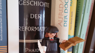 Luther im Thoracherhus